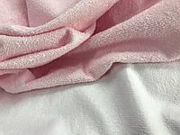 Польская водонепроницаемая махра розовая