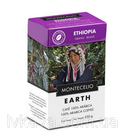 Кофе в зернах Cafe Montecelio Earth Ethiopia, 250г, фото 2