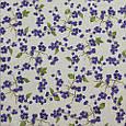 Декоративная ткань для штор, веточка смородины фиолетовый, фото 2
