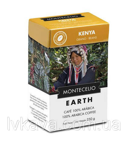 Кофе в зернах Cafe Montecelio Earth Kenya, 250г, фото 2