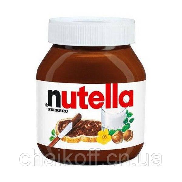 Шоколадно-ореховая паста NUTELLA с лесными орехами 500г (шт.)
