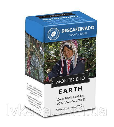 Кофе в зернах Cafe Montecelio Earth Descafeinado, 250г