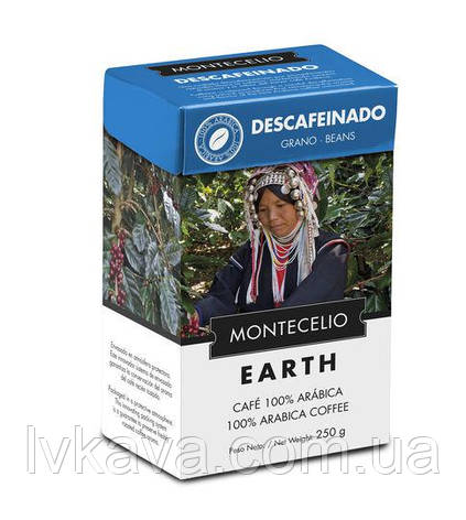 Кофе молотый Cafe Montecelio Earth Descafeinado, 250г, фото 2