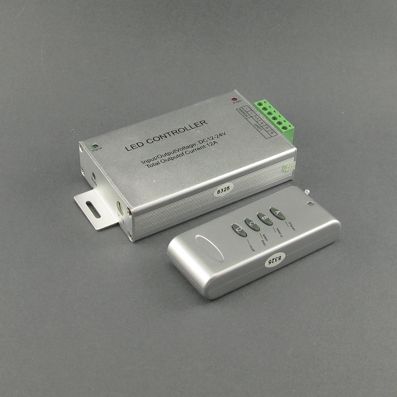Контроллер светодиодной ленты RGB 12A радиоуправление - интернет-магазин LEDMAG в Харькове