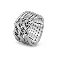 Мужское обручальное кольцо головоломка от Wickerring