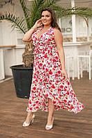 """Женское платье """"Орхидея - 1"""", в расцветках, р-р л-хл. ЕД-8-1-0618"""