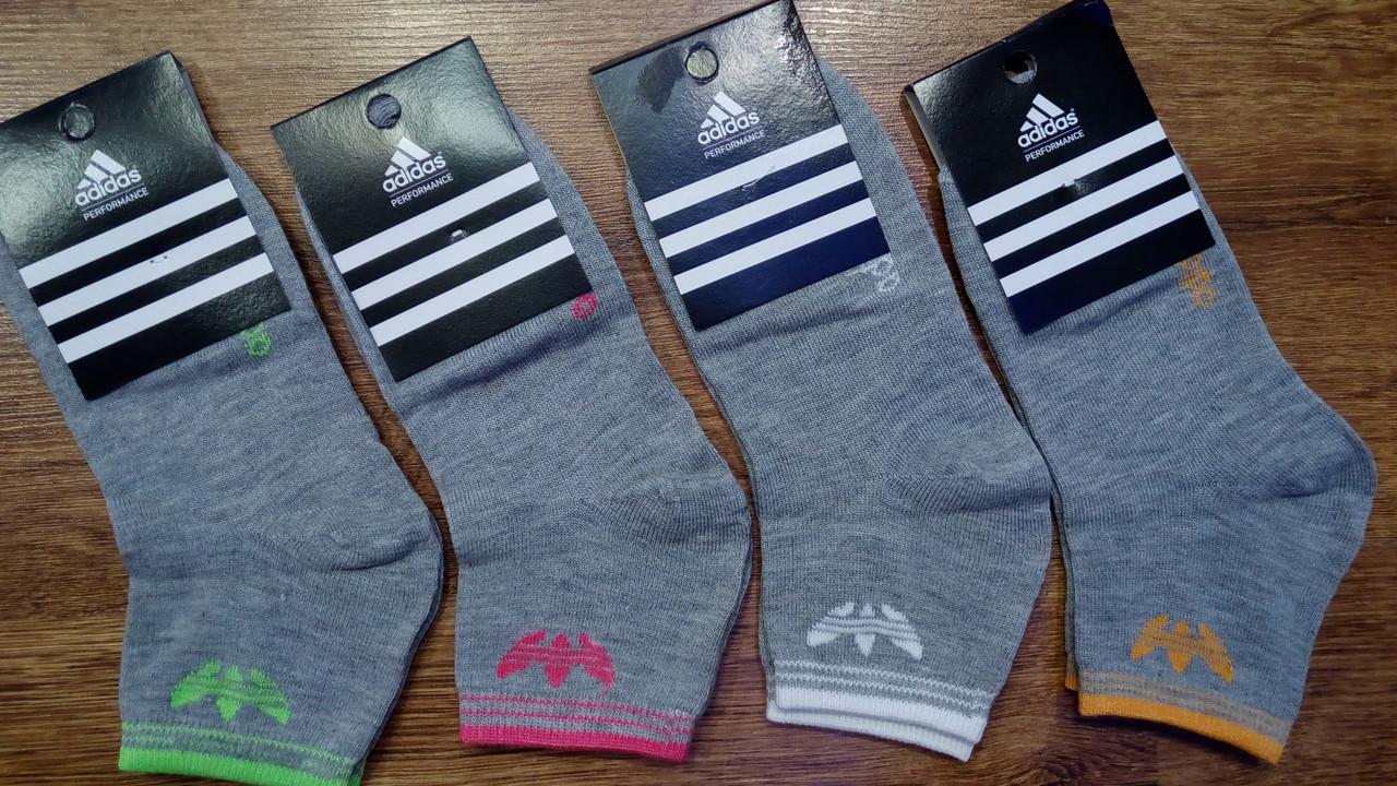 """Женские укороченные носки в стиле""""Adidas""""Турция,оригинал"""