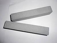 Абразивный точильный брусок 14А (электрокорунд нормальный) серый БП 100х25х10 16 СМ