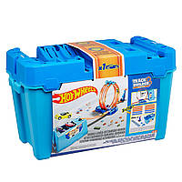 Трек Хот Вилс Конструктор трасс коробка для трюков Hot Wheels Track Builder Multi Loop Box Playset FLK90