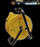 """Удлинитель на катушке с термозащитой 4 места (2Р+PЕ/20м 3х1,5 мм2) IEK УК20 """"Industrial"""", фото 2"""