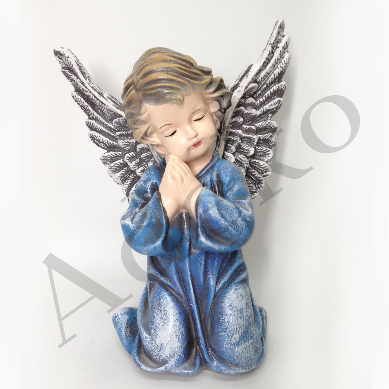 Декоративная скульптура Ангел с крыльями 28 см