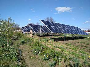 сетевая солнечная электростанция Лозоватка для зеленого тарифа 33,6 кВт