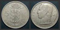 Бельгия 5 франков 1948г.