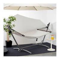 Гамак FREDÖN,IKEA, білий, чорний ИКЕА, 802.873.62