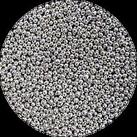 Шарики сахарные серебро 1-2 мм 50 грамм