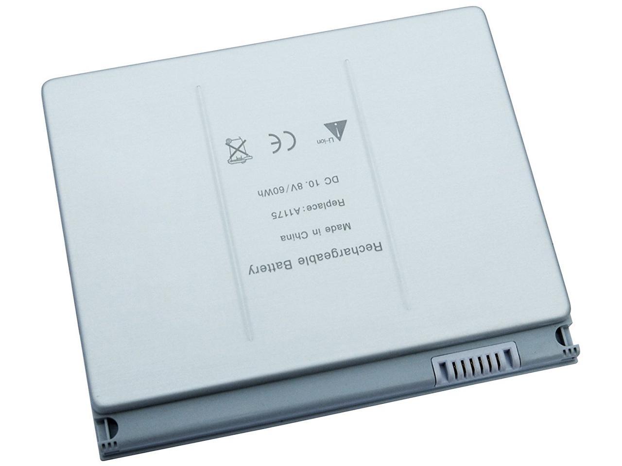 Батарея Apple A1175, A1150 10.8V 60Wh Silver (Металлический  корпус).