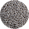 Шарики сахарные серебро 3 мм, 50 грамм