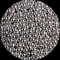 Шарики сахарные серебро, 3 мм