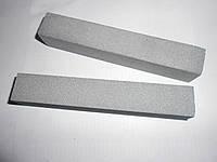 Абразивный точильный брусок 14А (электрокорунд нормальный) серый БП 110х16х10 6 СМ