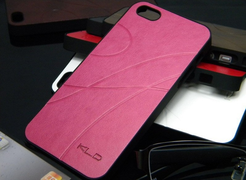 Чехол для iPhone 5 5S KLD Luxury кожа