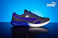 Мужские кожаные кроссовки Puma Синий/Голубой 51_sin_gol, фото 1