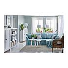 Угловой раскладной диван IKEA HOLMSUND Orrsta голубой 292.282.05, фото 5