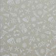 Декоративная ткань для штор, морская тематика молочно-бежевый, фото 2