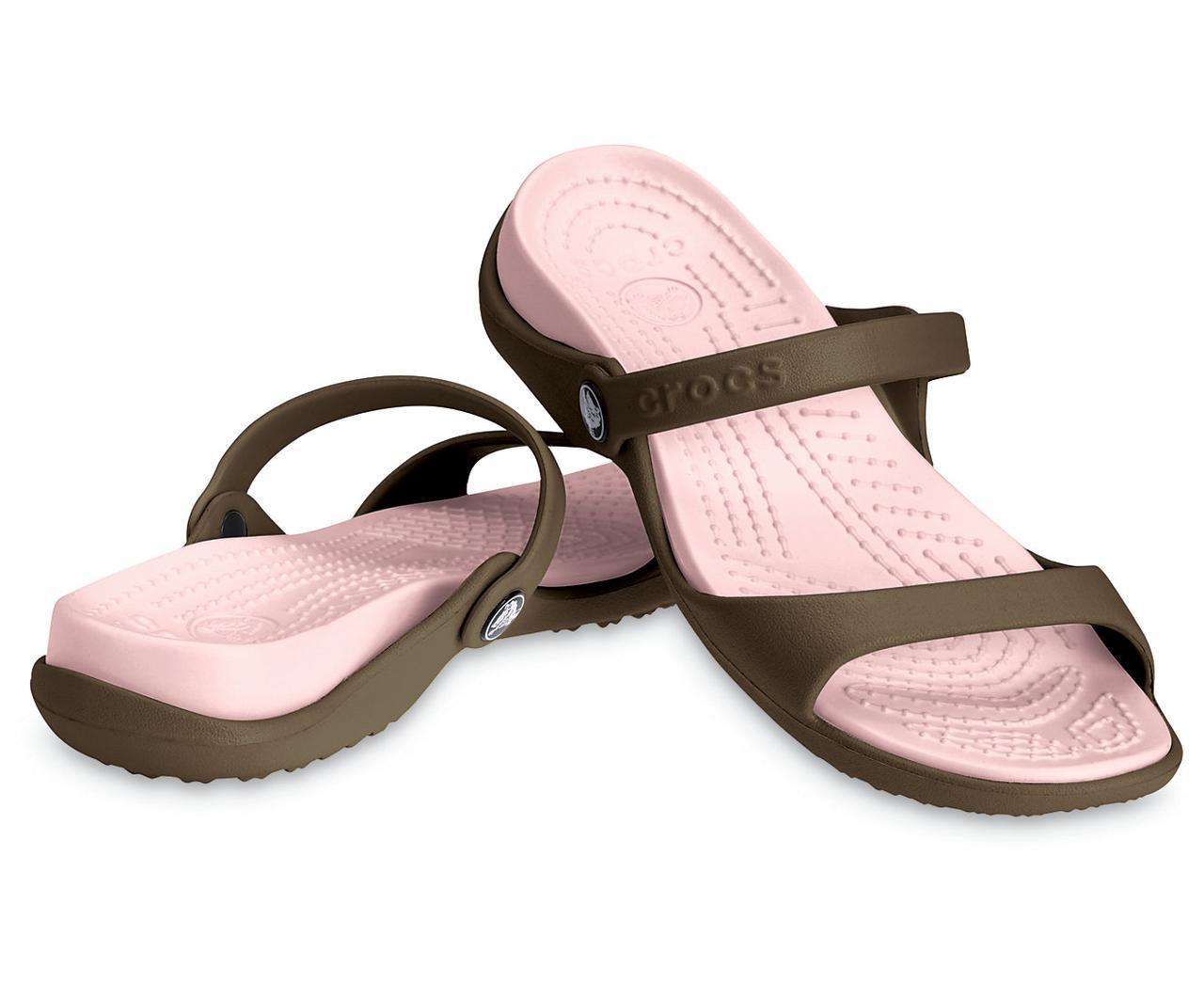Шлепанцы женские Кроксы Клео сандалии оригинал / Crocs Women's Cleo Sandal