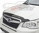 Дефлектор капота, мухобойка Toyota Land Cruiser Prado 150 2013- /рестайлинг VIP, фото 2