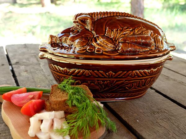 Кабан – жаровня из керамики объемом 2,5 л