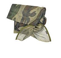 Маскировочная сетка-шарф Mil-Tec французский камуфляж (CCE TARN), фото 1