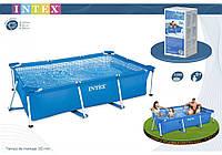 Сборный каркасный прямоугольный бассейн Intex 28271 (260см-160см-65см)