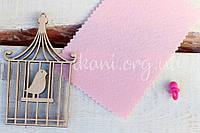 Фетр корейский жесткий 1,2 мм для рукоделия и творчества разные размеры, 906, светло-розовый