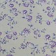 Декоративная ткань для штор, цветы фиолетовый, фото 2