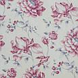 Декоративная ткань для штор, цветы молочно-розовый, фото 2