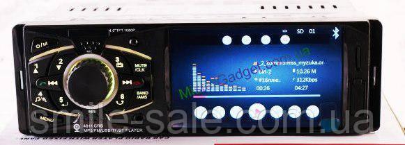 """Классная магнитола Pioneer 4011CRB с Экраном 4"""", Видео, Aux, Bluetooth, USB, AV-in!+ ПУЛЬТ НА РУЛЬ!"""