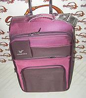 52a84d3c12a1 Чемодан на двух колесах Three birds фиолетовый - Цельна ручка (большой) 6095