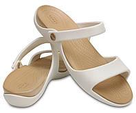 Шлепанцы женские Кроксы Клео 5 сндалии оригинал / Crocs Women's Cleo V Sandal