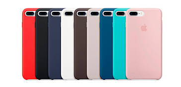Silicone case для iPhone 7+/8+