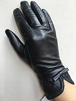Перчатки зимние кожаные