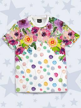 Детская футболка Цветной горох