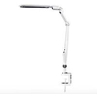 Светодиодная настольная LED лампа, белая, фото 1