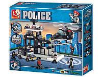 Конструктор Полиция Sluban M38-B2200, фото 1
