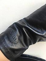Перчатки осенние кожаные