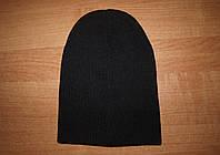 Черная шапка-носок