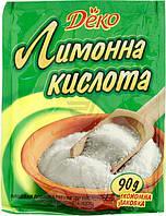 Кислота лимонная 90 г Деко (4820159131488)