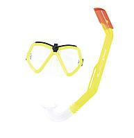 Детский набор маска и трубка для подводного плаванья Bestway 24027