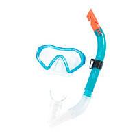 Детский набор маска и трубка для подводного плаванья Bestway 24025