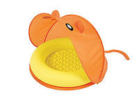 BestWay 51110 Надувной бассейн детский с тентом от солнца (97х97х74 см)