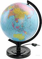 Глобус политический 32 см с подсветкой Тетрада